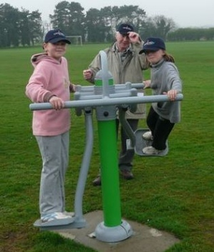 Opening of Sports Equipment, Bodham Playing Field