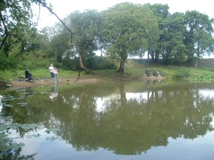 Fishing at the Marl Pit at Bodham