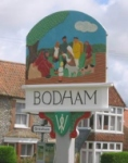 Old Bodham Village Signs